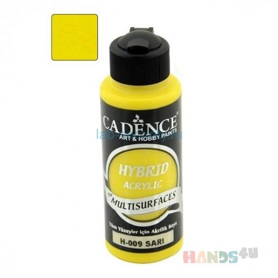 Купить Акриловая краска Hybrid Acrylic for Multisurfaces 120 мл Yellow-H09, Краски и лаки, Декупаж и роспись ручной работы. Мастер Олег Кулаков (olegZhostovo) . акриловая краска