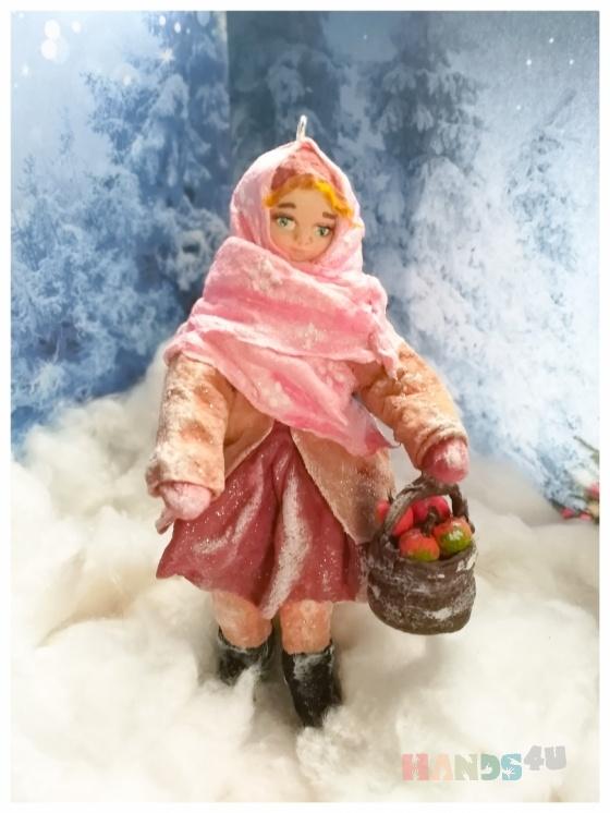 Купить 111, Елочные украшения, Новый год, Подарки к праздникам ручной работы. Мастер Анатольевна Елена (Lenat799) . ватная игрушка