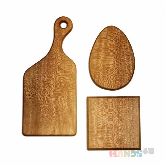 Купить Сет-набор для резки и подачи из 3-х досок, Разделочные доски, Кухня, Для дома и интерьера ручной работы. Мастер Хоку Рум (hokuroom) . доска