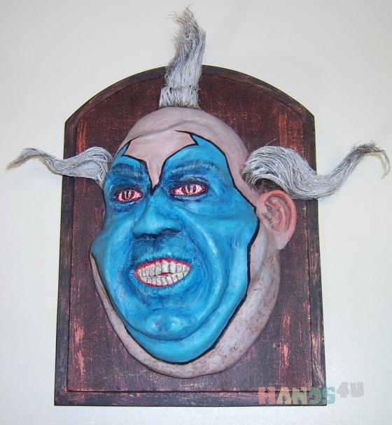 Купить Violator, Интерьерные маски, Для дома и интерьера ручной работы. Мастер   (bighamster69) .