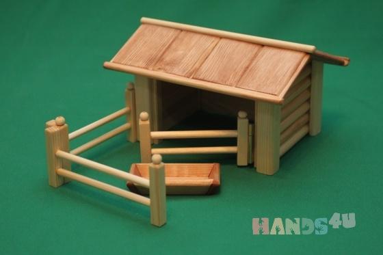 Купить Свинарник, Развивающие игрушки, Куклы и игрушки ручной работы. Мастер Виктор Петров (fermer-2) . ферма