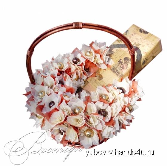 Купить Корзина мужская, Персональные подарки, Подарки к праздникам ручной работы. Мастер Любовь В. (Lyubov-v) .