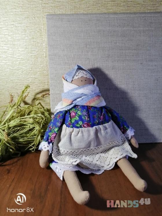 Купить Интерьерная кукла Баба Нюша, Текстильные, Коллекционные куклы, Куклы и игрушки ручной работы. Мастер Людмила Тучкова (Lusi) .