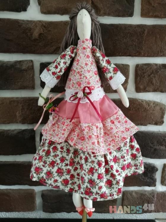 Купить Тильда в розовом, Куклы Тильды, Куклы и игрушки ручной работы. Мастер Вячеслав Есин (Slav) . игрушки тильда