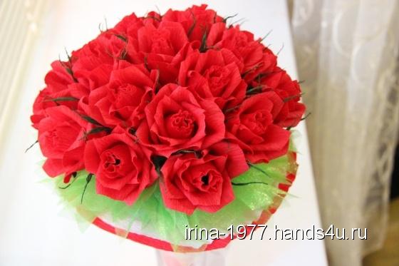 Купить Букет из конфет Алая роза, Букеты из конфет, Букеты, Цветы и флористика ручной работы. Мастер Ирина Богатова (Irina-1977) . букет из конфет