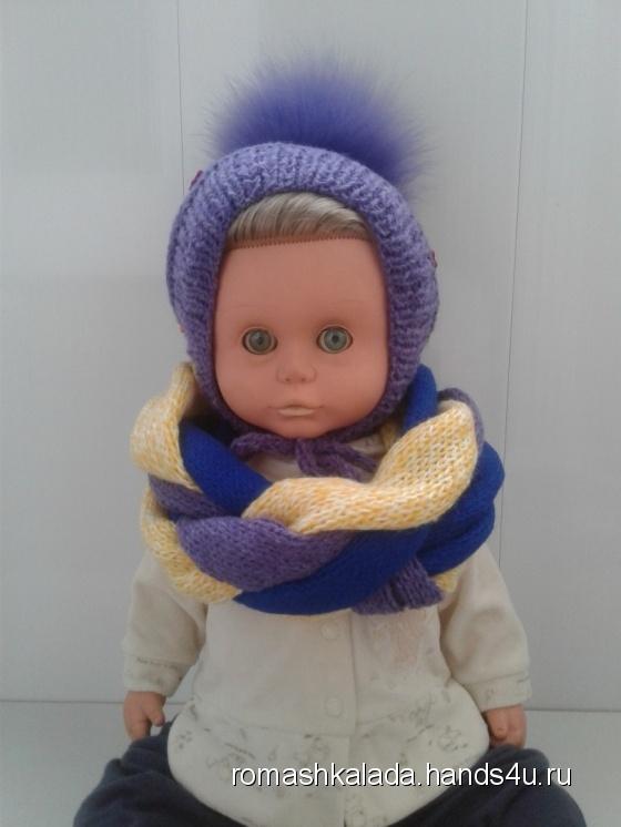 Купить Связанный руками комплект для маленькой девочки, Комплекты, Одежда для девочек, Работы для детей ручной работы. Мастер Лада Санарова (RomashkaLada) . пряжа разных цветов