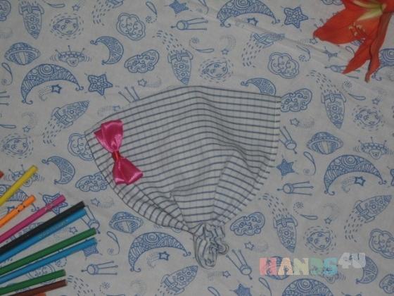 Купить Косынка-бандана на резинке, Шапочки, шарфики, Одежда для девочек, Работы для детей ручной работы. Мастер Ольга  (Olga25) . косынка