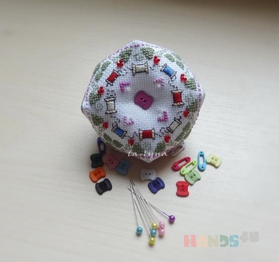 Купить Игольница швейная, Персональные подарки, Подарки к праздникам ручной работы. Мастер Наталья  (Talyna) .
