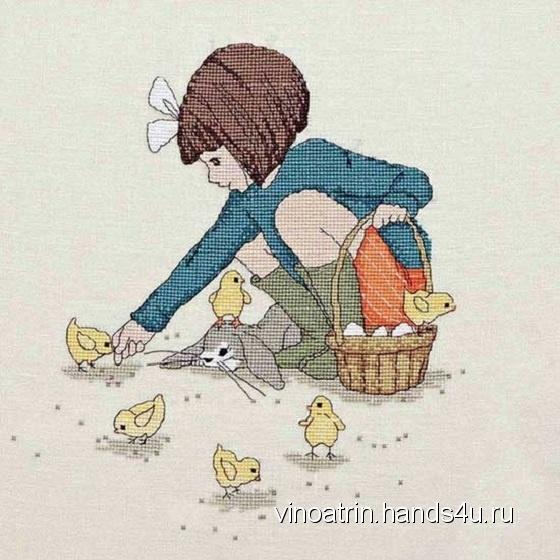 Купить девочка, Картины, Детская, Для дома и интерьера ручной работы. Мастер Екатерина Виноградова (Vinoatrin) . мулине