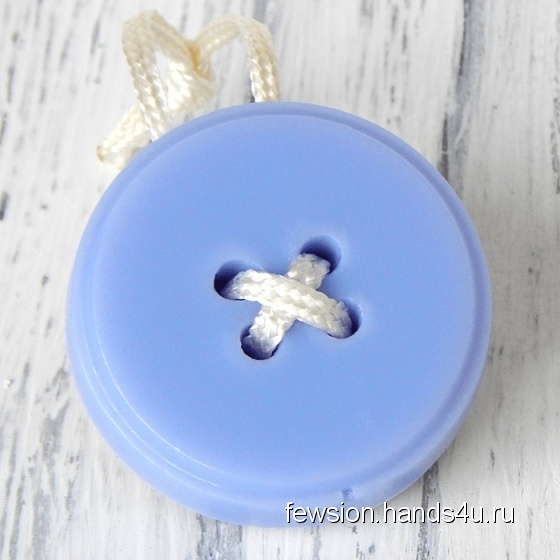 Купить Мыло на шнурке Button, Мыло-скраб, Мыло, Косметика ручной работы. Мастер   (Fewsion) . мыло в подарок