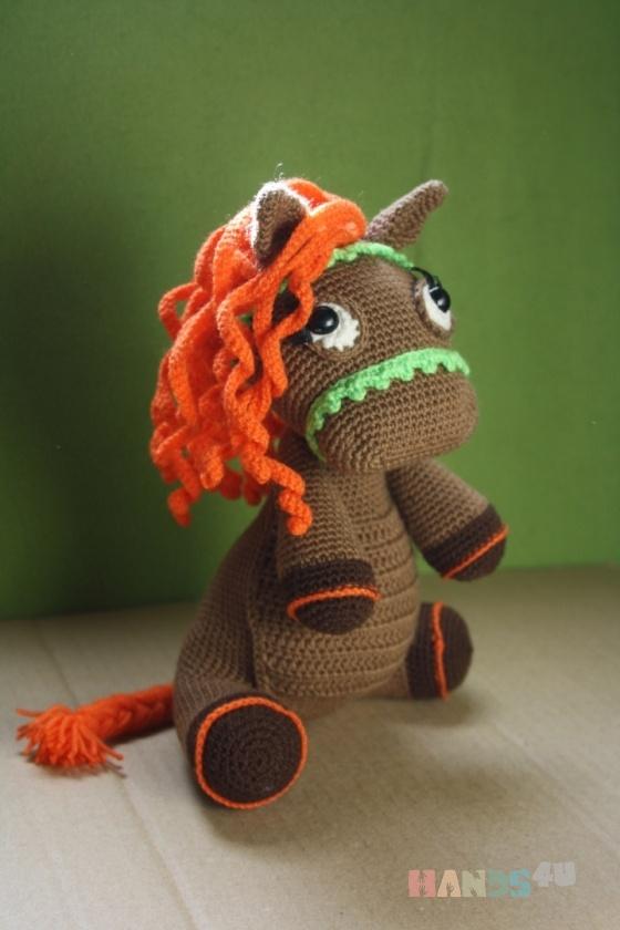 Купить Лошадка, Другие животные, Зверята, Куклы и игрушки ручной работы. Мастер Елена Гриценко (grena) . лошадка