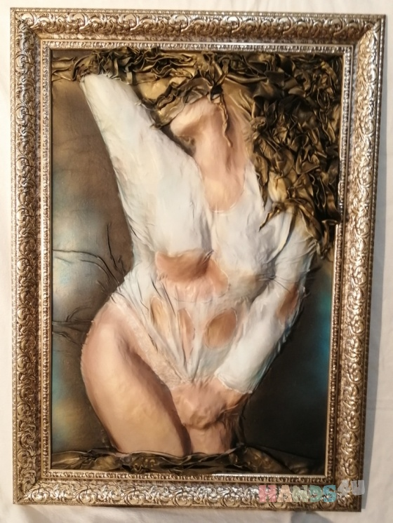 Купить СТРАСТЬ, Люди, Картины и панно ручной работы. Мастер Любовь Гусева (ludov) . картина в интерьер