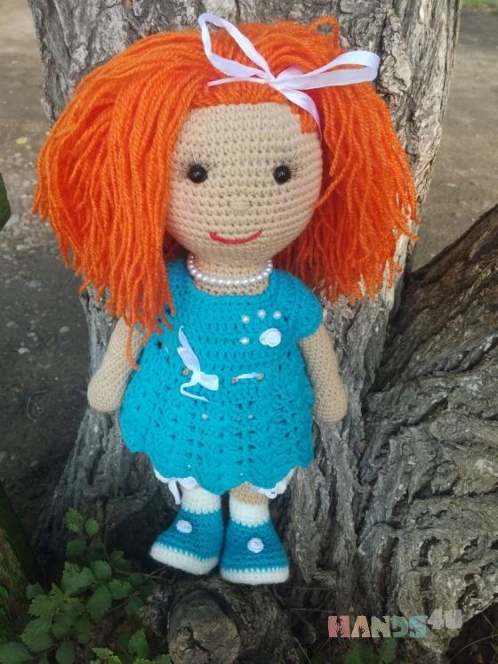 Купить кукла вязаная интерьерная , Сувениры и подарки ручной работы. Мастер Алена Дремина (AlenaDan) . вязанная кукла