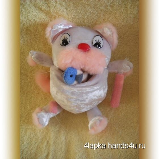 Купить Кошечка Карамелька, Развивающие игрушки, Куклы и игрушки ручной работы. Мастер Ольга Колдомаева (4lapka) . игрушка