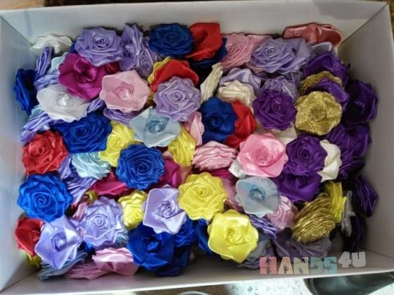 Купить Термо Розы пришивные, Аппликации, вставки, отделка ручной работы. Мастер Катарина Эльдарова (KlubOK777) . белая роза