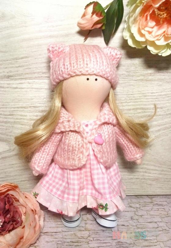 Купить Текстильная интерьерная кукла, Куклы Тильды, Куклы и игрушки ручной работы. Мастер Елена Ковалева (ElenaBY) . подарок