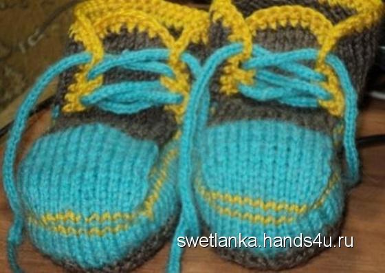 Купить Пинетки туфельки, Детская обувь, Работы для детей ручной работы. Мастер Светлана Сальникова (SWETLANKA) . детские пинетки