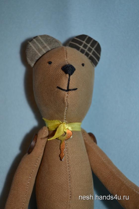 Купить Вельветовый Мишутка , Куклы Тильды, Куклы и игрушки ручной работы. Мастер Наталья Шашкина (nesh) .