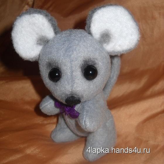 Купить Маленький мышонок Пик, Друзья Тедди, Мишки Тедди, Куклы и игрушки ручной работы. Мастер Ольга Колдомаева (4lapka) . мышь