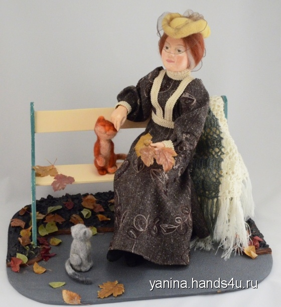 Купить Осень, Смешанная техника, Коллекционные куклы, Куклы и игрушки ручной работы. Мастер Янина Новикова (yanina) . авторская кукла