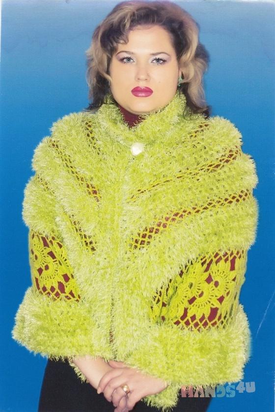 Купить ажурная накидка королева, C застежкой, Болеро, Одежда ручной работы. Мастер Маргарита  (Margarita) . вязание на заказ