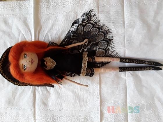 Купить Куколка Ведьмочка, Куклы и игрушки ручной работы. Мастер Екатерина Порубай (Ketrin) . куколка