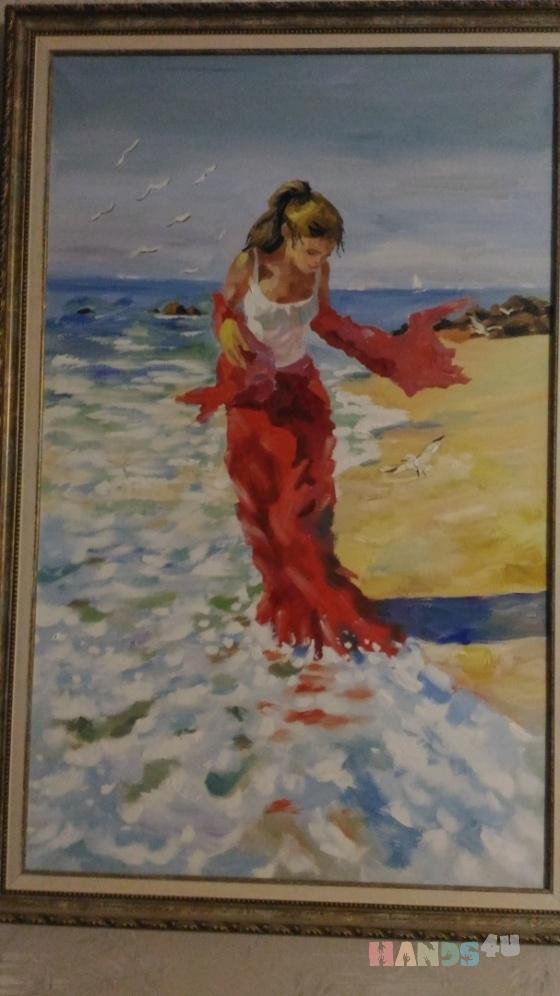Купить живопись маслом, Для дома и интерьера ручной работы. Мастер Елена Ковалевская (Lysia80) .