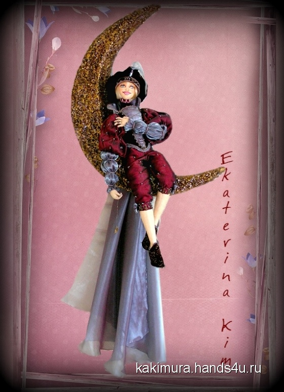 Купить Паж Лунной Дорожки, Текстильные, Коллекционные куклы, Куклы и игрушки ручной работы. Мастер Екатерина Ким (Kakimura) .