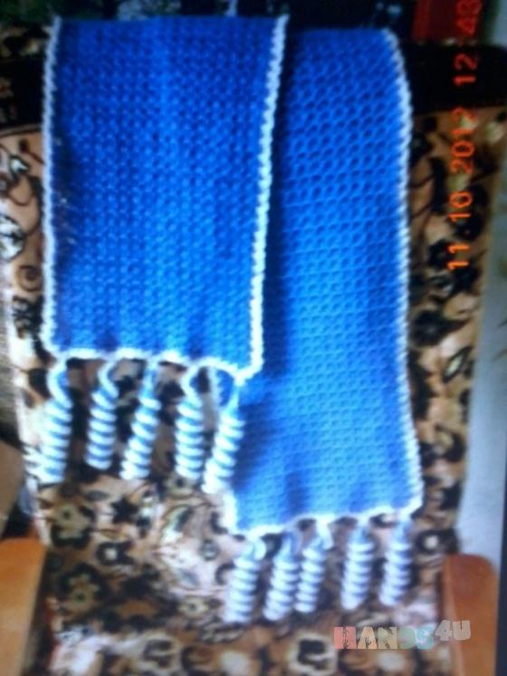 Купить Шарфик, Пончо, Одежда ручной работы. Мастер Екатерина Рудова (KATERINA5555) . ажурный шарф