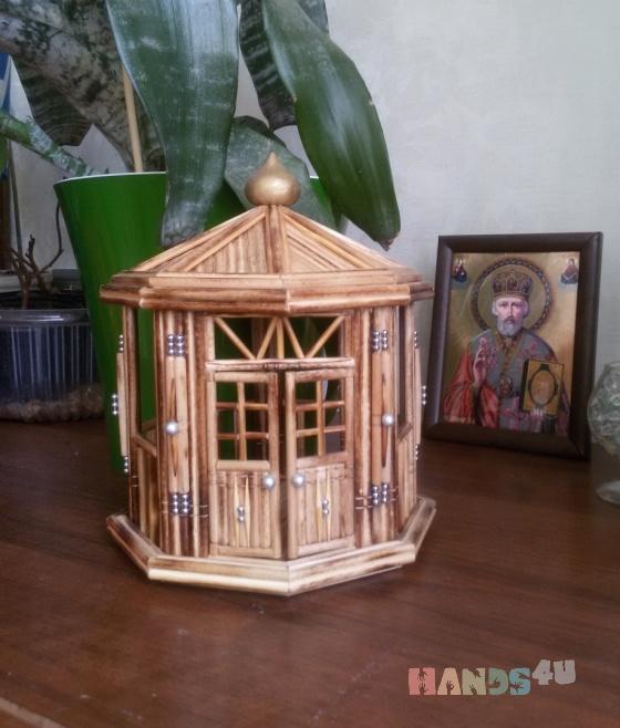 Купить Летняя беседка, Сувениры и подарки ручной работы. Мастер Андрей Тимофеев (Rukotvor) . сувениры из дерева