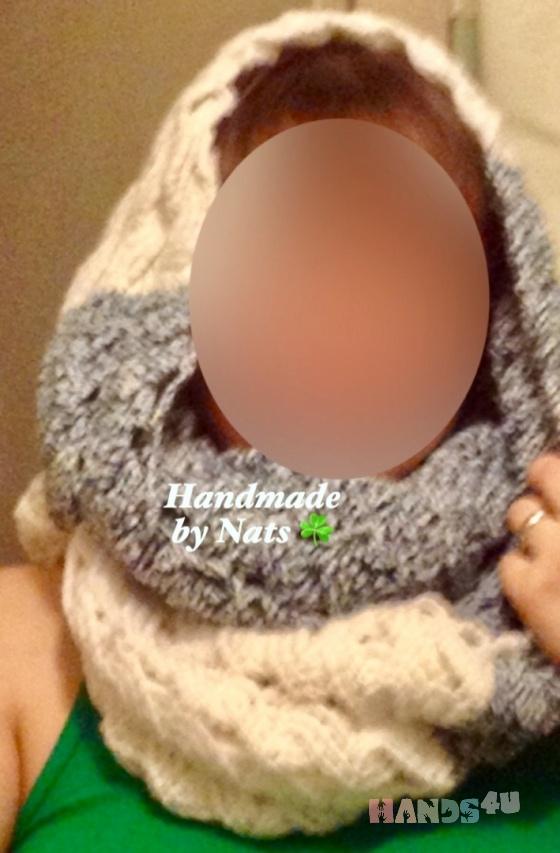 Купить Снуд-шарф (осень-зима), Женские, Шарфы, шарфики и снуды, Аксессуары ручной работы. Мастер Nats  (Nats) . вязаный снуд