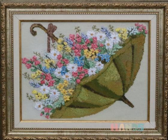 Купить Лето в зонтике , Картины и панно ручной работы. Мастер   (marina598) . интерьерная картина