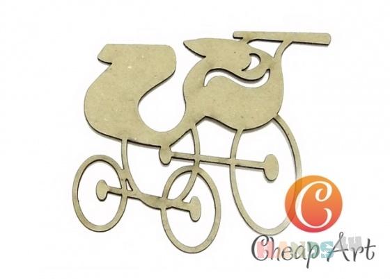 Купить Декоративный элемент Ретро коляска (1 шт), Промышленные, Декоративные элементы, Декупаж и роспись ручной работы. Мастер   (cheap-art) .