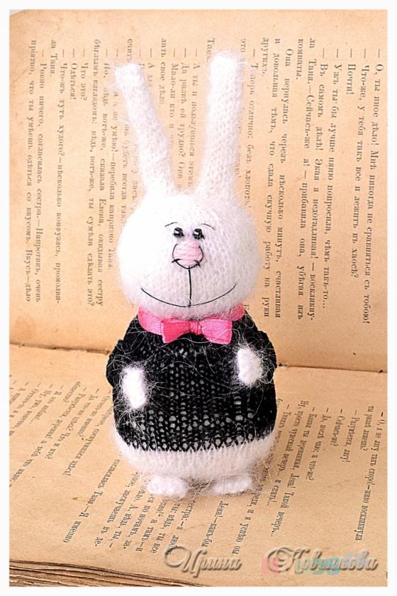Купить Зайчик Жених, Зайцы, Зверята, Куклы и игрушки ручной работы. Мастер Ирина Ковенкова (hrumtic) .