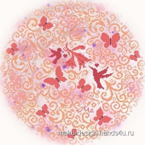 Купить Набор для вышивания Кружевной Рай, Ручной работы, Наборы для вышивания, Вышивка ручной работы. Мастер Марина Гончарова (MaKu-design) . набор для вышивания