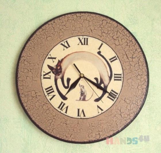 Купить Часы Время дружить, Настенные, Часы для дома, Для дома и интерьера ручной работы. Мастер Татьяна Макарова (TatianaM) .