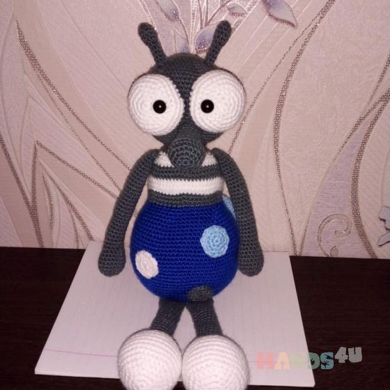 Купить Комар, Куклы и игрушки ручной работы. Мастер Эмма Котова (Emma1) .