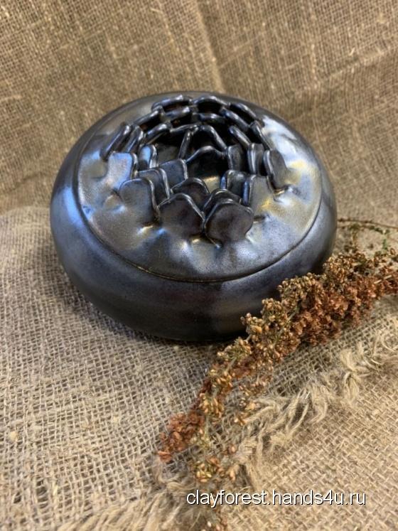 Купить шкатулка, Керамика, Шкатулки, Для дома и интерьера ручной работы. Мастер Мария  (ClayForest) .