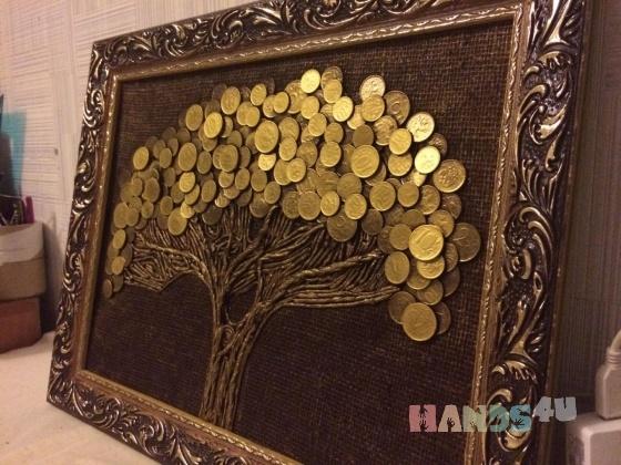 Купить Панно из монет, Картины и панно ручной работы. Мастер Татьяна Гостева (tanyagosteva) . монеты