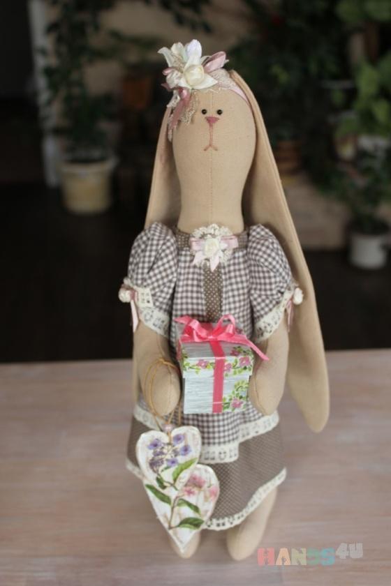Купить Зайка , Куклы Тильды, Куклы и игрушки ручной работы. Мастер Сана Куклы (Sana) . интерьерная игрушка