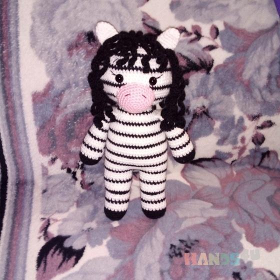 Купить Зебра, Куклы и игрушки ручной работы. Мастер Эмма Котова (Emma1) .