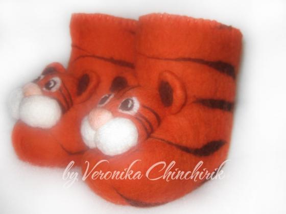 Купить Детские валенки, Детская обувь, Работы для детей ручной работы. Мастер Вероника Чинчирик (ChinchirikVS) . валенки