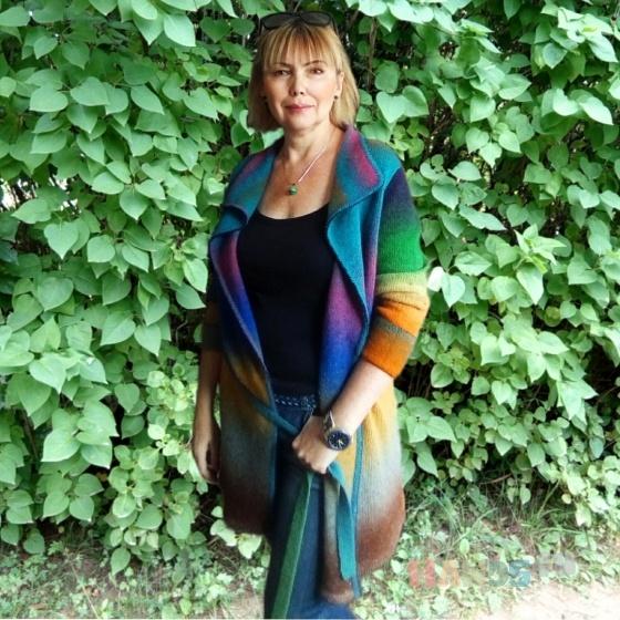 Купить Кардиган шерстяной, Кардиганы, Кофты и свитера, Одежда ручной работы. Мастер наталья мальцева (Tauranga) . 100 пр шерсть