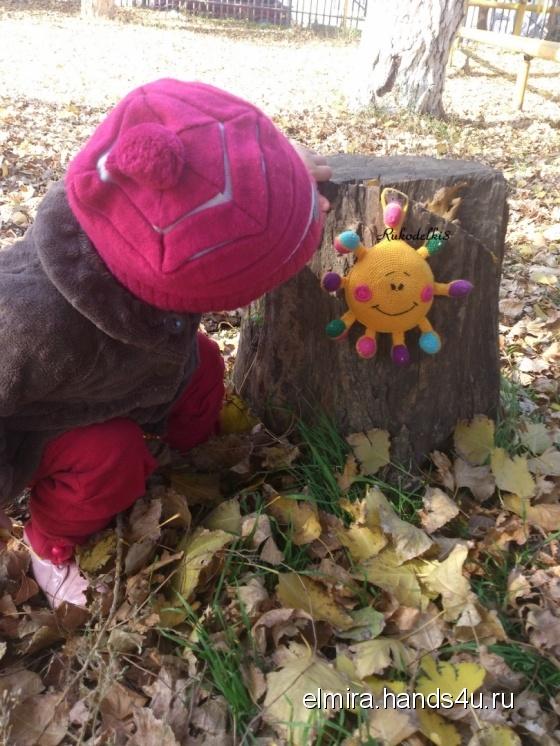 Купить Солнышко, Развивающие игрушки, Куклы и игрушки ручной работы. Мастер Эльмира  (Elmira) . развивающая игрушка