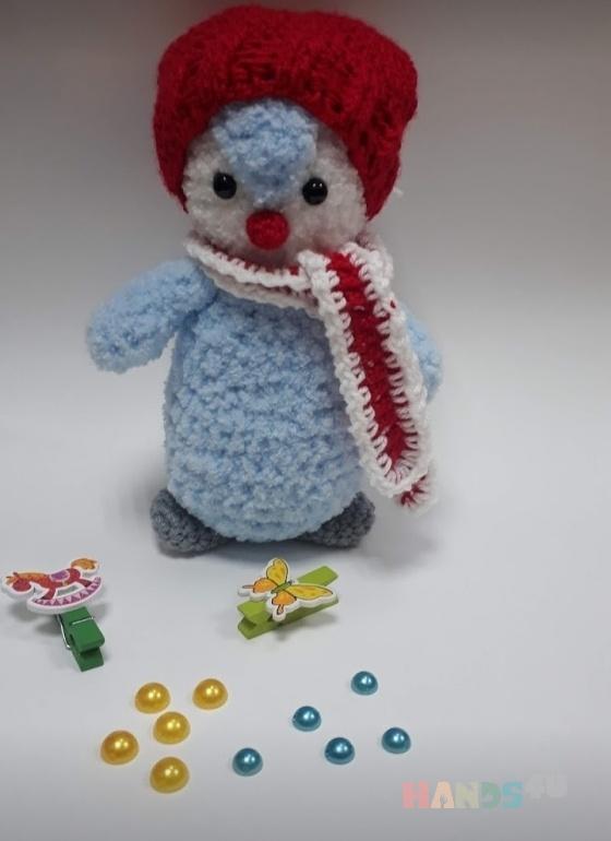 Купить пингвин, Куклы и игрушки ручной работы. Мастер Светлана Тирских (svetik01) . плюшевая игрушка