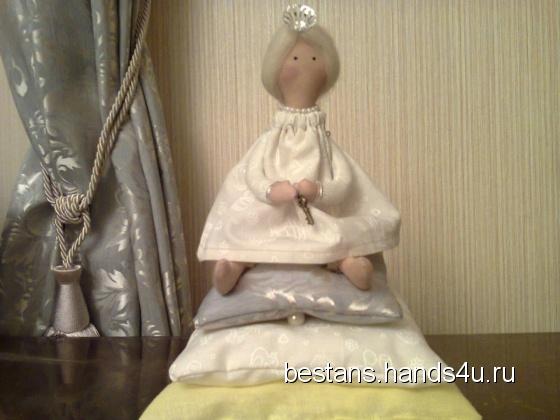 Купить Принцесса на горошине Марьяна, Куклы и игрушки ручной работы. Мастер Татьяна Ливанская (bestans) . хб