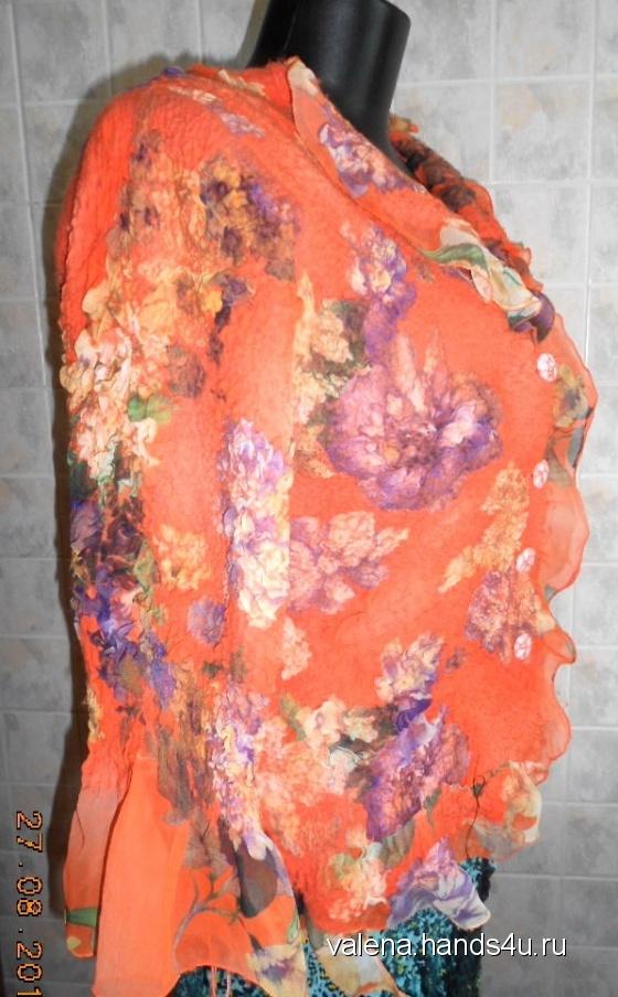 Купить Кофточка женская, С застежкой, Трикотажные кофточки, Кофты и свитера, Одежда ручной работы. Мастер Elena Ulevataya (VaLena) . кофта женская