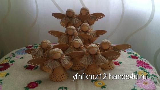 Купить кукла-ангел, Сувениры и подарки ручной работы. Мастер Наталья Кукина (yfnfkmz12) . береста