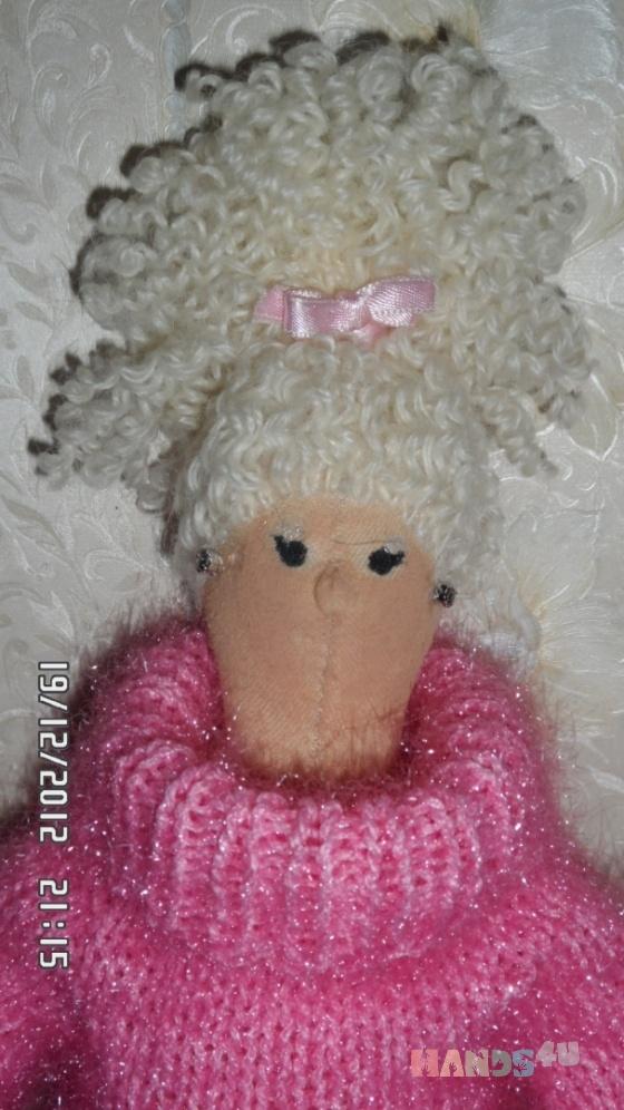 Купить Тильдочка-блондинка, Куклы Тильды, Куклы и игрушки ручной работы. Мастер   (Wasilisa) .