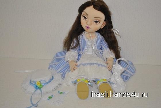 Купить Авторская текстильная куколка, Текстильные, Коллекционные куклы, Куклы и игрушки ручной работы. Мастер Елена Рыбалко (Liraeli) . авторская кукла